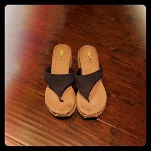 Volatile Gilligan Navy sandal 9